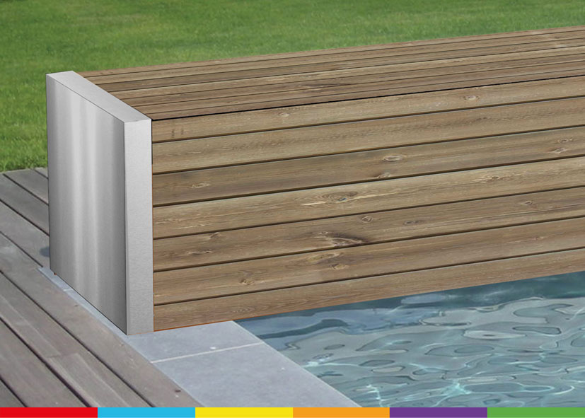 Home aquacover couvertures volets de s curit for Volet polycarbonate piscine